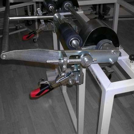 Biegevorrichtung Fiat 500 Windschott